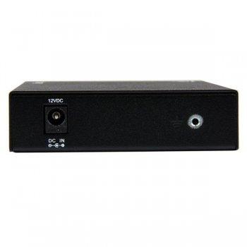 StarTech.com Conversor de Medios Ethernet 10 100 Mbps a Fibra Multi Modo Conector ST - 2km