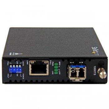 StarTech.com Conversor de Medios de Ethernet Gigabit de Cobre a Fibra - Monomodo LC - 10km