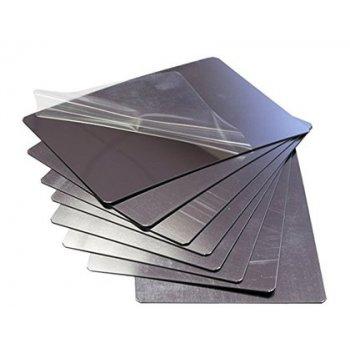 Espejo henbea plastico flexible e irrompible 14x20 cm set de 8 unidades