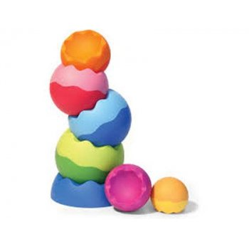 Juego esferas apilables fat brain tobbles neo 7 colores y tamaños surtidos
