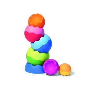 Juego ventosas fat brain silicona bebe pipsquigz 3 unidades colores surtidas