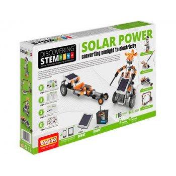 Set de construccion engino stem energia solar