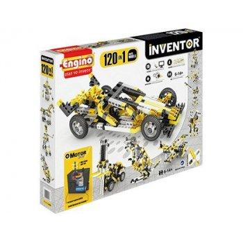 Set de construccion engino inventor motorized 120 modelos