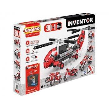 Set de construccion engino inventor motorized 90 modelos