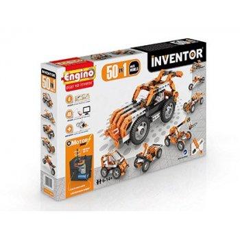 Set de construccion engino inventor motorized 50 modelos