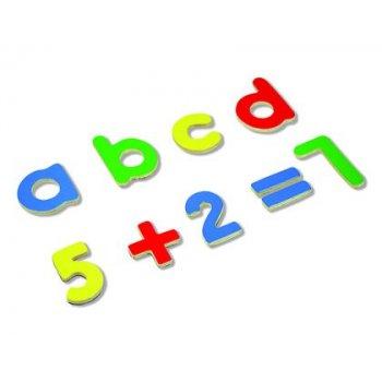 Juego andreutoys letras y numeros magneticos 75 piezas 20,6x19x4,5 cm