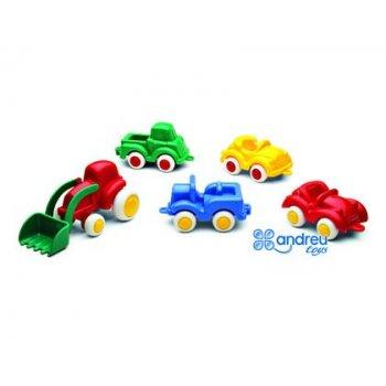 Juego vikingtoys mini vehiculos polipropileno 7 cm caja de 30 unidades surtidos