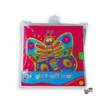Juego galt toys libro tela actividades y textura 8 paginas 27x25,3x4 cm