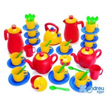 Juego dantoy cafe te 12 servicios 53 piezas 29,5x31x15 cm
