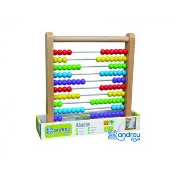 Juego ambitoys abacus 10 varillas 30,5x7,5x30,6 cm