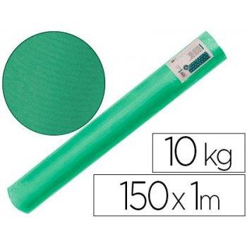 Papel kraft verjurado liderpapel verde musgo 150mt 65gr bobina 10kg
