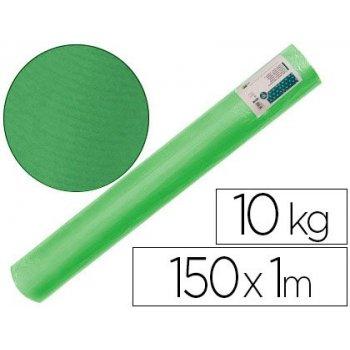 Papel kraft verjurado liderpapel verde 150mt 65gr bobina 10kg