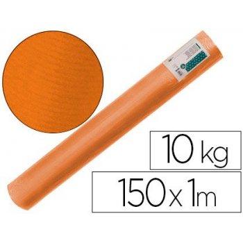 Papel kraft verjurado liderpapel naranja 150mt 65gr bobina 10kg