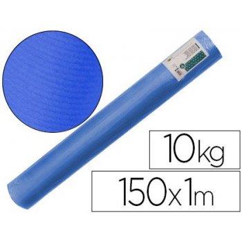 Papel kraft verjurado liderpapel azul 150mt 65kg bobina 10kg