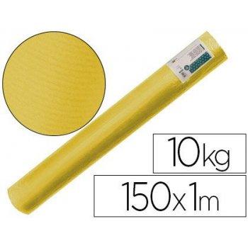 Papel kraft verjurado liderpapel amarillo 150 mt 65 gr bobina 10 kg