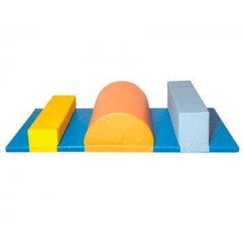 Conjunto psicomotrocidad 80 sumo didactic multicolor 200x100x30 cm