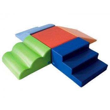 Conjunto psicomotrocidad 10 sumo didactic multicolor 190x185x30 cm