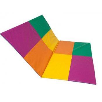 Tatami sumo didactic plegable multicolor 2 cuerpos 200x150x2 cm