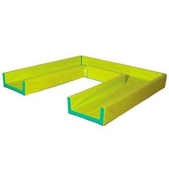 Circuito modular de gateo sumo didactic pistacho 430x50x20 cm