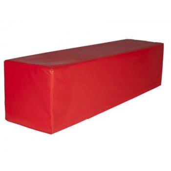 Prisma sumo didactic rojo 120x30x30 cm