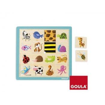 Puzzle goula texturas 16 piezas