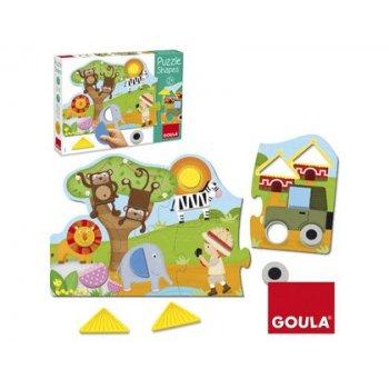 Puzzle goula shapes 19 piezas