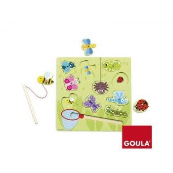Puzzle goula bichos magnetico 10 piezas