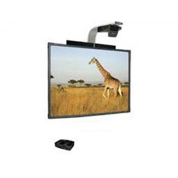Pizarra interactiva promethean abt78d con proyector optoma s321 soporte y altavoces