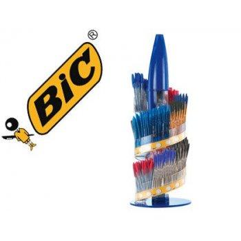Boligrafo bic cristal family expositor de 770 unidades surtidas promo regalo 150 bic cristal azul