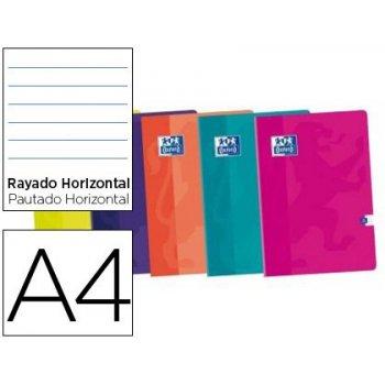 Libreta oxford tapa blanda din a4 48 h horizontal colores surtidos touch