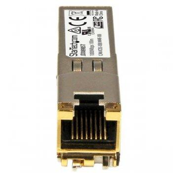 StarTech.com Módulo Transceptor SFP Compatible con HP JD089B - 10 100 1000BASE-TX