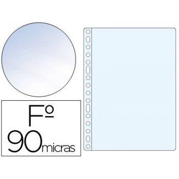Funda multitaladro saro folio 90 mc pvc cristal caja de 100 unidades