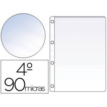 Funda cuatro taladros saro cuarto 90 mc cristal caja de 100 unidades