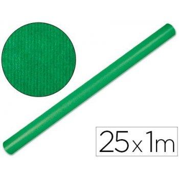 Papel kraft liderpapel verde fuerte rollo 25x1 mt