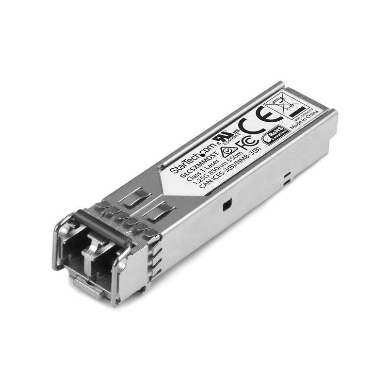 StarTech.com Módulo Transceptor SFP Compatible con Cisco GLC-SX-MMD - 1000BASE-SX