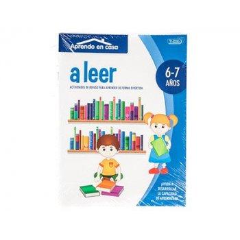 Cuaderno de colorear actividades aprendo en casa 6-7 años 16 paginas 210x280 mm