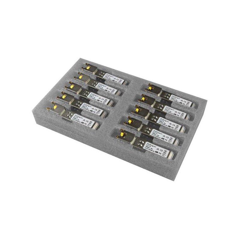 StarTech.com Módulo Transceptor SFP Compatible con Cisco GLC-T - 1000BASE-T - Paquete de 10