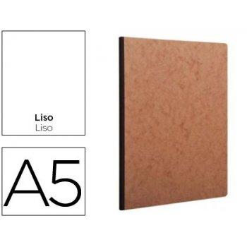 Libreta age-bag tapa cartulina lomo cosido liso 96 hojas color havana 148x210 mm