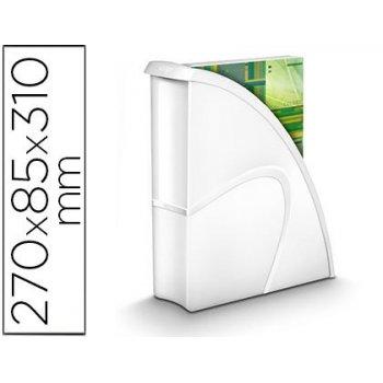 Revistero cep plastico uso vertical   horizontal blanco 85x270x310 mm