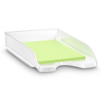 Bandeja sobremesa cep plastico blanca 257x348x66 mm