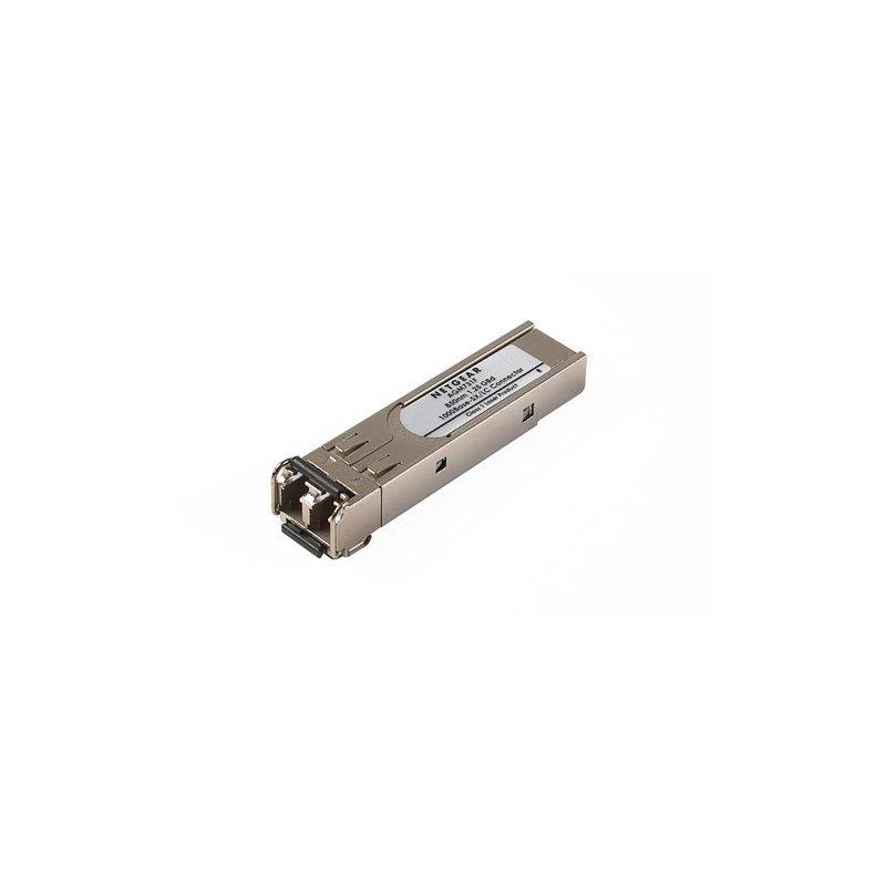 Netgear ProSafe GBIC Module 1000BASE-SX Fiber SFP convertidor de medio 65 nm