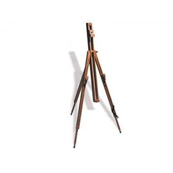 Caballete pintor reeves dorset madera plegable con patas telescopicas 90,5x14x9,2 cm