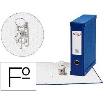 Modulo pardo 1 archivador de palanca folio 2 anillas 70 mm azul 350x100x290 mm
