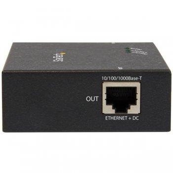 StarTech.com Gigabit PoE+ Extender - 802.3at af - 100m