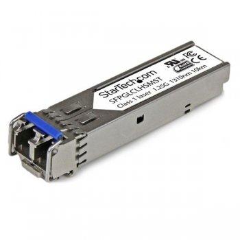 StarTech.com Módulo SFP Compatible con Cisco GLC-LH-SM - Transceptor de Fibra Óptica 1000BASE-LX LH - SFPGLCLHSMST