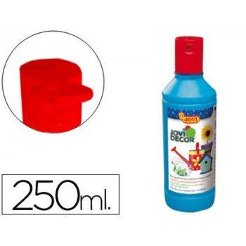 Pintura multiuso jovi jovidecor 250 ml azul cyan