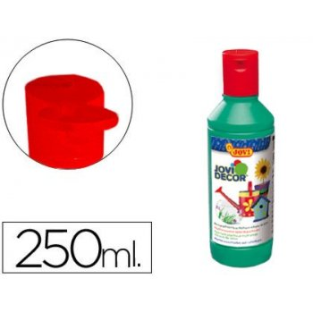 Pintura multiuso jovi jovidecor 250 ml verde medio