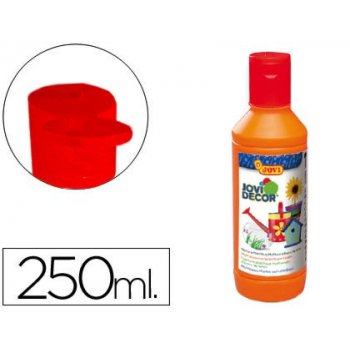 Pintura multiuso jovi jovidecor 250 ml naranja