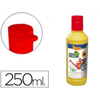 Pintura multiuso jovi jovidecor 250 ml amarillo
