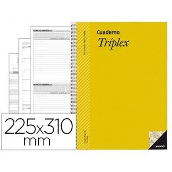 Bloc triplex additio plan de curso evaluacion agenda plan semanal y tutorias fundas transparentes 22,5x31cm